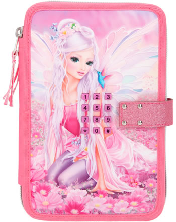 TOPModel Pencil case with code and two parts and filling Fantasy Model FAIRY 11196