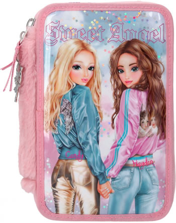 TOPModel pencil case with three parts and filling KITCHY ANGEL 11204