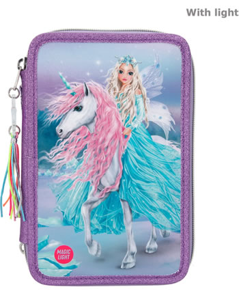 TOPModel pencil case 3 parts and filling with LED Fantasy Model ICEFRIENDS 11181