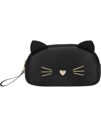 TOPModel Kosmetiktasche CAT schwarz