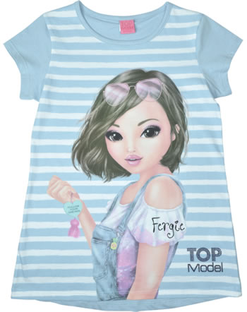 TOPModel Long Shirt Kurzarm FERGIE cashmere blue 85014-613
