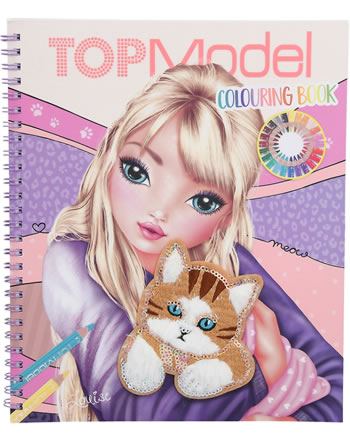 TOPModel Colouring book CAT 11450