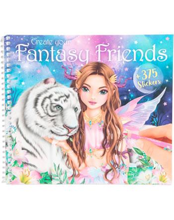 TOPModel Malbuch Create your Fantasy Friends 11164