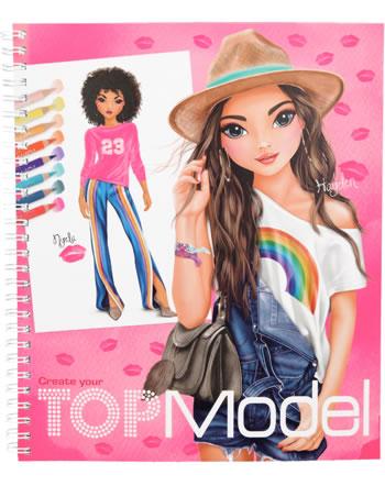 TOPModel Malbuch Create your TOPModel Nyela & Hayden