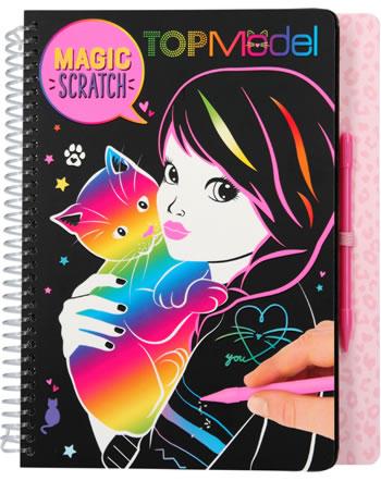 TOPModel Malbuch Magic Scratch CAT