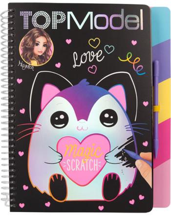 TOPModel Malbuch Magic Scratch LOVE