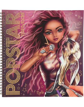 TOPModel livre du couleur POPSTAR Nyela 11462