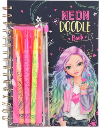 TOPModel Neon Doodle Malbuch mit Stifte-Set