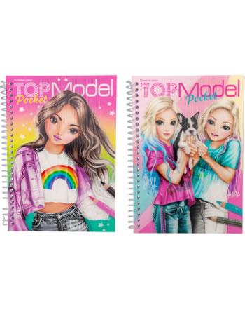 TOPModel Pocket Malbuch mit 3D Cover Talita / Jill + June