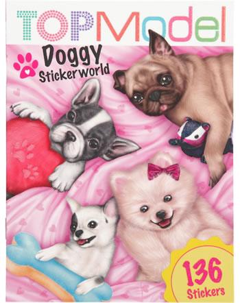 TOPModel Pocket Stickerworld Doggy mit 136 Stickern
