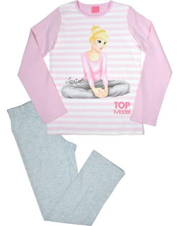 TOPModel Pyjama Langarm LOUISE pink lady 98820-832