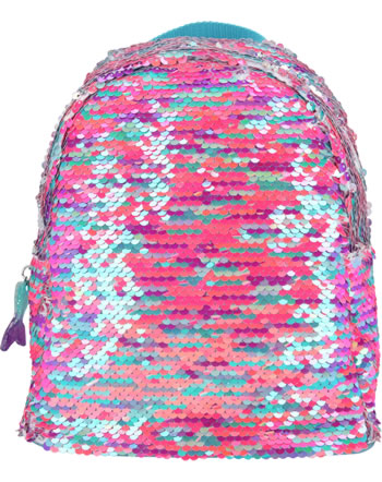 TOPModel Rucksack Fantasy Model MERMAID Streich-Pailletten pink