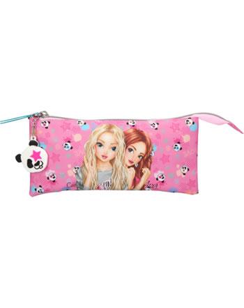 TOPModel Schlampertasche gefächert PANDA pink