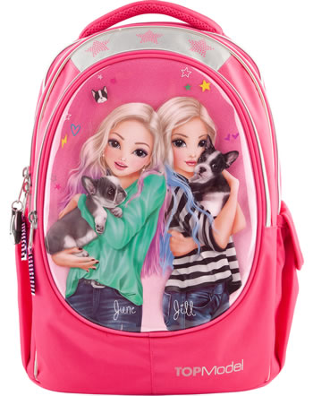 TOPModel Schul-Rucksack Friends June & Jill pink