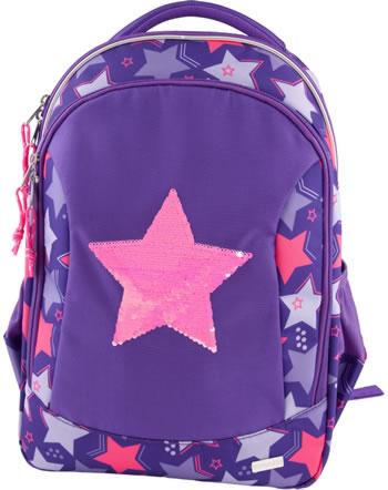 TOPModel Schul-Rucksack Streichpailletten Star pink