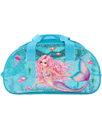 TOPModel Sporttasche Fantasy Model MERMAID blau