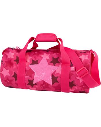 TOPModel Sporttasche Streichpailletten Stern pink