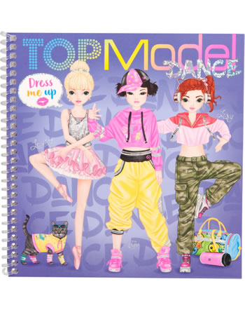TOPModel Stickerbuch Dress me up DANCE 11140