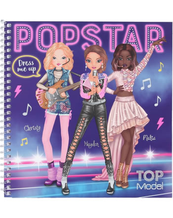 TOPModel Stickerbuch Dress me up Popstar 11452
