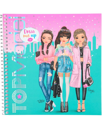 TOPModel Stickerbuch Dress me up Talita, Nyela und Fergie 10452/D