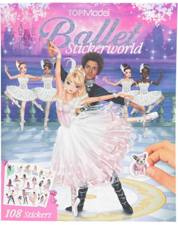 TOPModel Stickerworld BALLET 11581