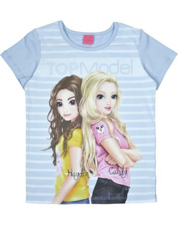TOPModel T-shirt manches courtes CANDY & HAYDEN halogen blue 85051-615