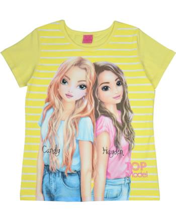 TOPModel T-shirt manches courtes CANDY & HAYDEN yellow iris 85045-427