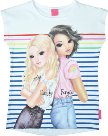 TOPModel T-Shirt Kurzarm CANDY UND FERGIE white 85013-001