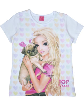 TOPModel T-shirt manches courtes CANDY white 85046-001