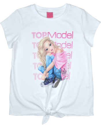 TOPModel T-shirt manches courtes CANDY white 85055-001