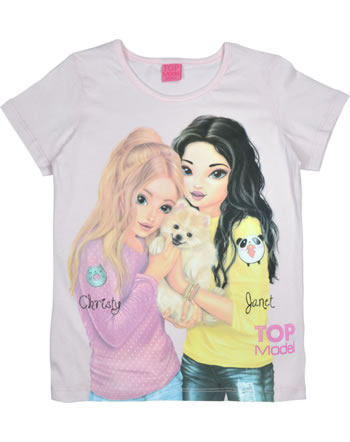 TOPModel T-shirt manches courtes CHRISTY & JANET barely pink 85048-808