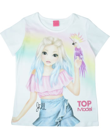 TOPModel T-Shirt Kurzarm JILL white 85012-001