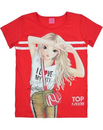 TOPModel T-Shirt Kurzarm LOUISE flame scarlett 85052-922