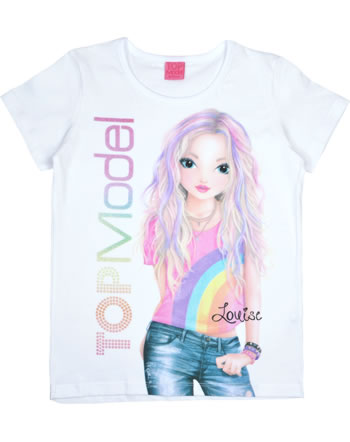 TOPModel T-shirt manches courtes LOUISE white 85049-001