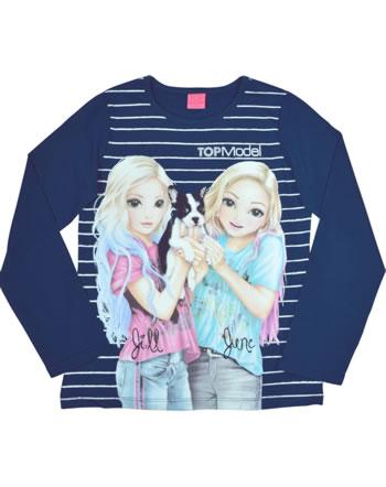 TOPModel T-Shirt Langarm JILLAND JUNE twilight blue 85031-778