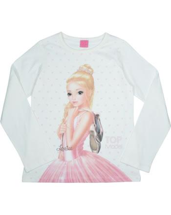 TOPModel T-Shirt Langarm Louise snow white 85074-012