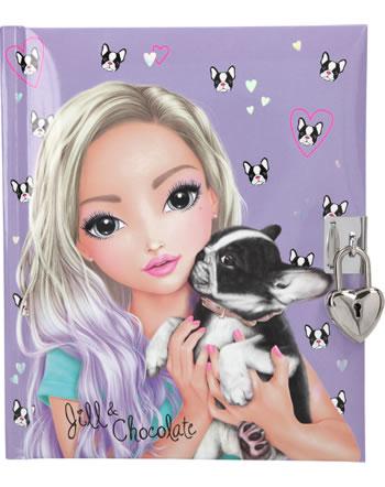 TOPModel Tagebuch DOG Jill und Chocolate 10950
