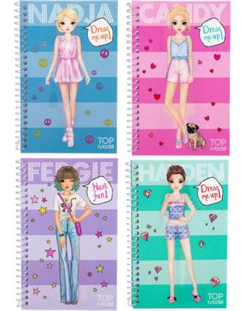 TOPModel Taschen-Stickerbuch Dress me up Wackelbild 11152