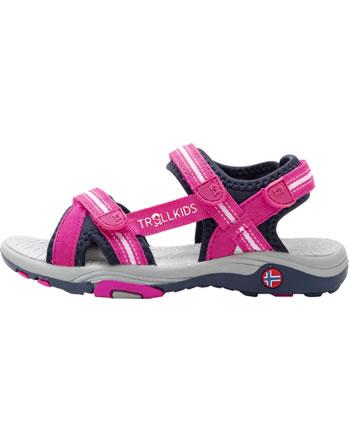 Trollkids Girls Sport Sandal PREIKESTOLEN magenta/navy 254-202