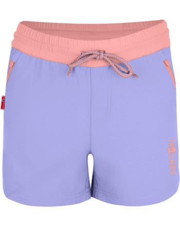Trollkids Girls Shorts ARENDAL lavender/apricot 304-153