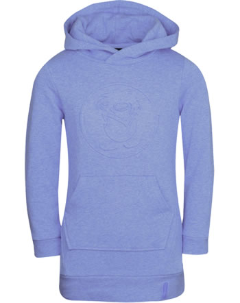 Trollkids Girls Sweat-Dress with hood SANDEFJORD lavender 337-153