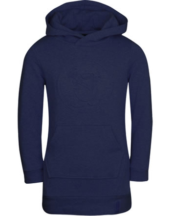 Trollkids Girls Sweat-Dress with hood SANDEFJORD navy 337-100