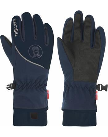 Trollkids Handschuhe Fingerhandschuhe KIDS TROLLTUNGA GLOVE navy 931-115