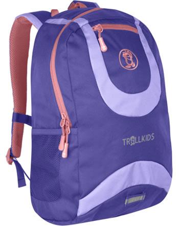 Trollkids Kids Daypack Rucksack TROLLHAVN L 20 L dark purple/lavender 822-154
