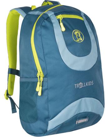 Trollkids Kids Daypack Rucksack TROLLHAVN L 20 L petrol/blue/lime 822-151