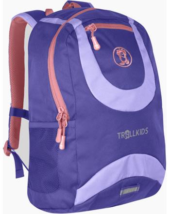 Trollkids Kids Daypack Rucksack TROLLHAVN M 15 L dark purple/lavender 821-154
