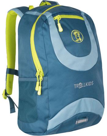 Trollkids Kids Daypack Rucksack TROLLHAVN M 15 L petrol/blue/lime 821-151