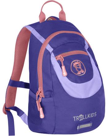 Trollkids Kids Daypack Rucksack TROLLHAVN S 7 L dark purple/lavender 820-154