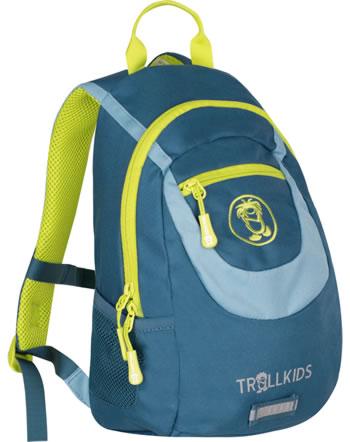 Trollkids Kids Daypack Rucksack TROLLHAVN S 7 L petrol/blue/lime 820-151