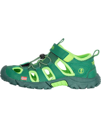 Trollkids Kids Sandal KRISTIANSAND green/light green 265-309